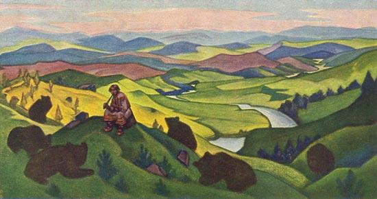 Н.К. Рерих. Чара звериная.1943